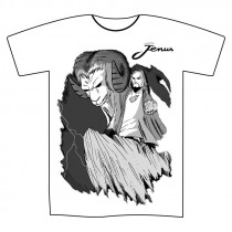 T-shirt bianca M Jenus...