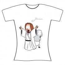 T-shirt bianca donna S...