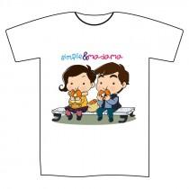 """T-shirt """"Simple&Madama"""" uomo M"""