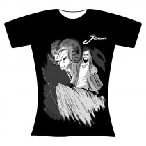 T-shirt nera donna S Jenus...